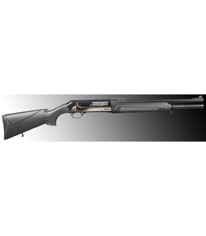 CESA Çift Sistemli İşlemeli Siyah Model SLUG Namlu otomatik  Av Tüfeği
