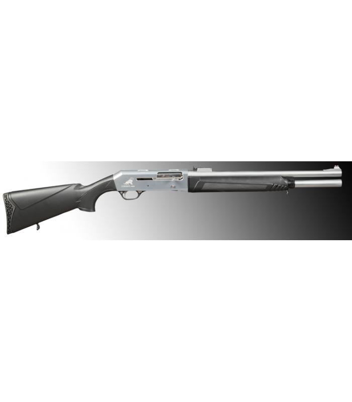 CESA Çift Sistemli BEYAZ Sade (MARİN)  SLUG NAMLU otomatik  Av Tüfeği