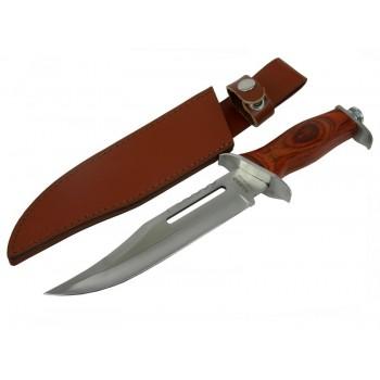 Gerçek Rambo Bıçağı -Gül ağacı kabzeli