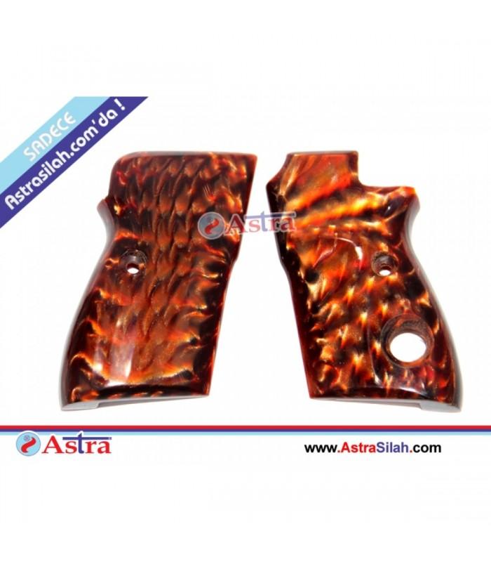 Beretta mod 70 Kahverengi Sedef kabza