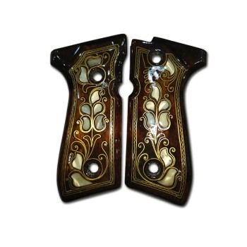 Beretta 92 Sedef kakma Kabza