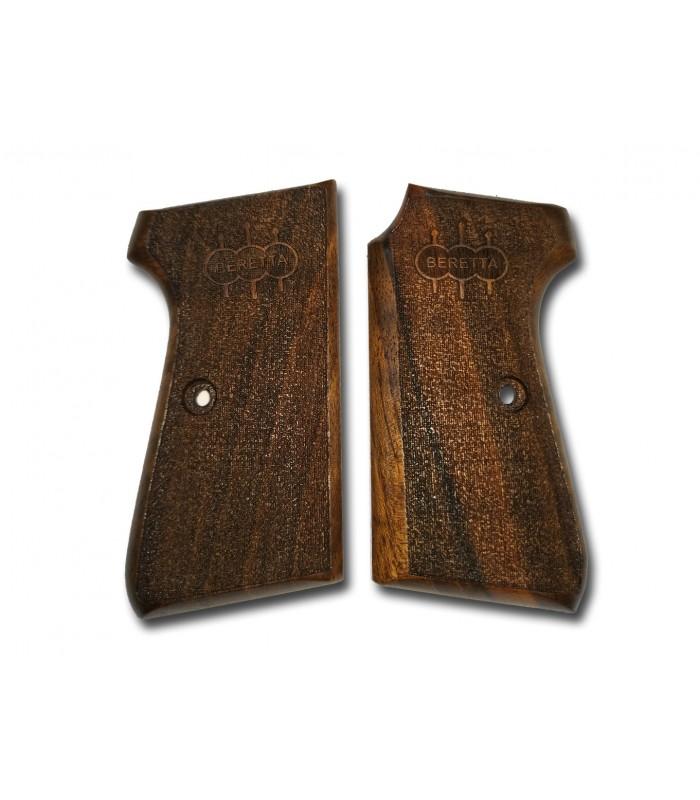 Beretta 931 Lazer işlemeli Ceviz Ağacı kabza