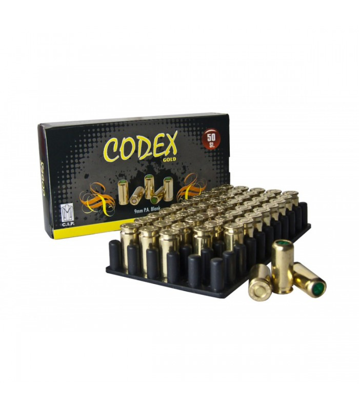 Özkursan CODEX Ses Mermisi 500 BAR Yüksek sesli 9mm