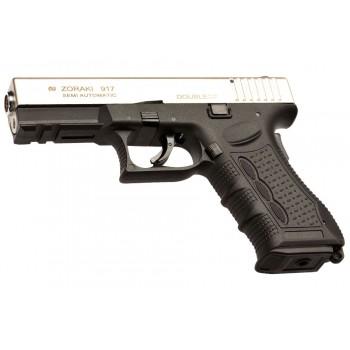 Zoraki 917- Glock Modeli Kurusıkı Tabanca -Parlak Krom