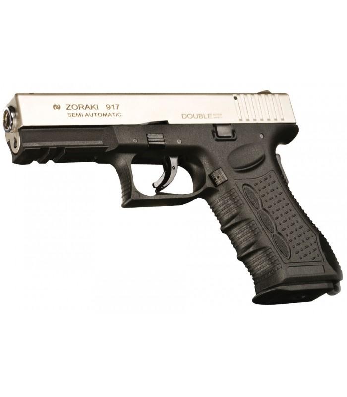Zoraki 917- Glock Modeli Kurusıkı Tabanca - Mat Krom