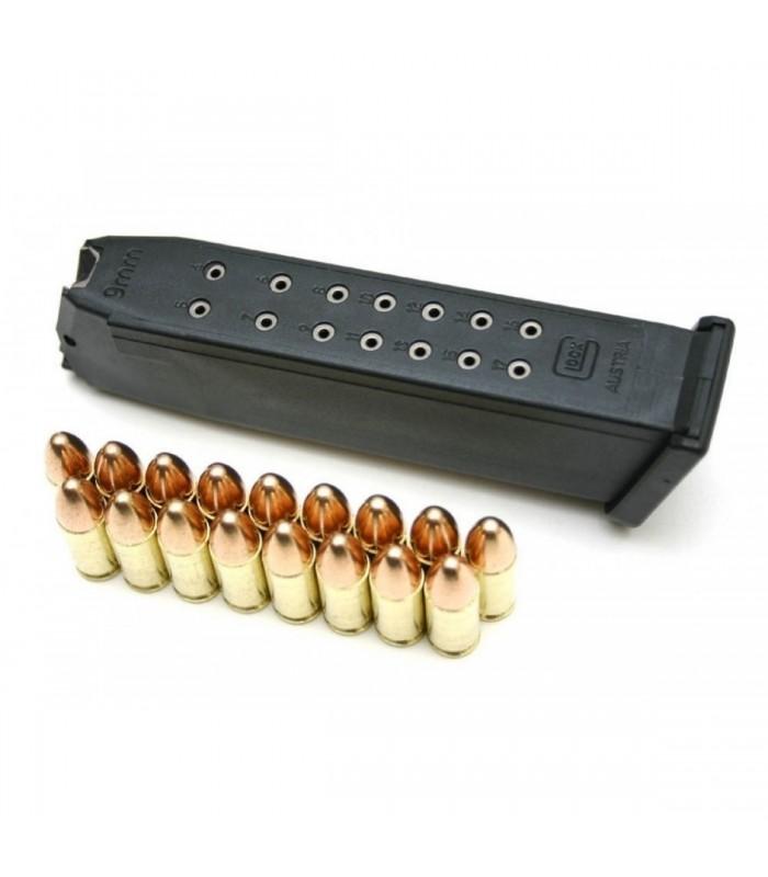 Glock 17 -9mm-15+1 Kapasiteli Şarjör
